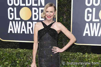 Naomi Watts is declared one of the most elegant of the night with a sober and stylish dress black color with bright - Matzav Review
