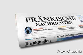 Tauberbischofsheim: Unfall verursacht und geflüchtet - Newsticker überregional - Fränkische Nachrichten
