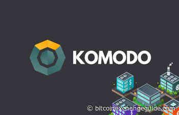 KOMODO Price Prediction Today: Daily (KMD) Value Forecast – June 19 - bitcoinexchangeguide.com