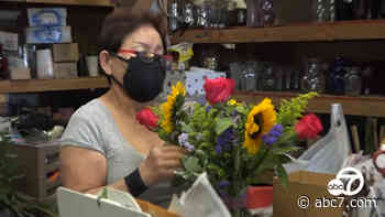 90-year-old Montebello flower shop reopens ahead of Mother's Day - KABC-TV