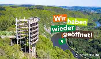 Mettlach: Baumwipfelpfad an der Saarschleife öffnet am 8. Mai - sol.de