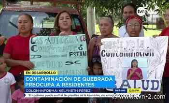 Noticias Se mantienen malos olores en comunidad de El Giral - TVN Panamá