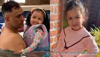 Mahendra Singh Dhoni's Daughter, Ziva Singh Dhoni Looks Adorable As She Meditates Amidst The Nature - BollywoodShaadis.com