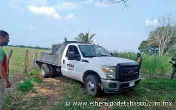 Recuperan camioneta robada en Huimanguillo - El Heraldo de Tabasco
