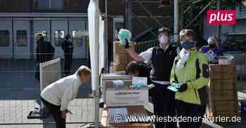 Maskenverkauf in Walluf stößt auf große Resonanz - Wiesbadener Kurier