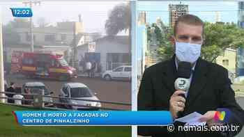 Homem é morto a facadas no Centro de Pinhalzinho - ND - Notícias