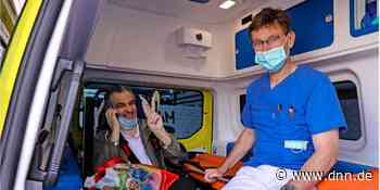 Corona - Nach Behandlung in Coswig – Italienischer Covid-19-Patient sagt Ciao - Dresdner Neueste Nachrichten