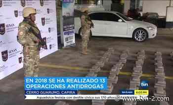 Noticias Decomisan drogas en Cerro Guarumal de Capira - TVN Panamá