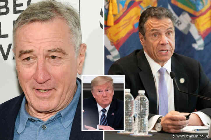 De Niro says he wants to play Gov. Cuomo in 'coronavirus movie' and says 'idiot' Trump 'didn't listen to warnings'