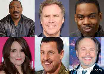 Saturday Night Live Alumni Eddie Murphy, Billy Crystal, Will Ferrell, Adam Sandler, Chris Rock, And More ... - Its Media Lodge