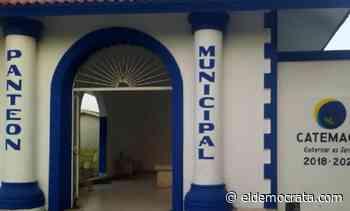 Panteón Municipal de Catemaco cerrará el acceso por contingencia sanitaria - El Demócrata