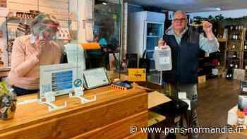 Déconfinement. Aux Andelys, les « makers » et la Ville équipent les commerçants - Paris-Normandie