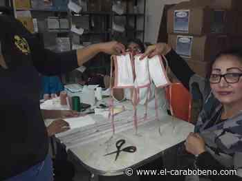 Denuncian que hospital de Guacara habría dotado a su personal con tapabocas hechos de papel - El Carabobeño