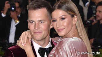 Tom Brady und Gisele Bündchen: Paartherapie half ihnen bei schwerer Ehekrise - RTL Online