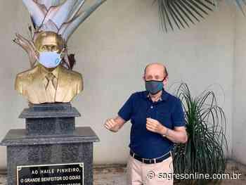 """""""Mascarado"""", Hailé Pinheiro visita obra da Serrinha e revela que inauguração acontecerá em dezembro - Sagres Online - Sagres Online"""