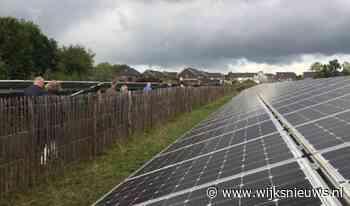 Actie tegen zonnepanelen aan de Groenewoudseweg Cothen - Wijks Nieuws