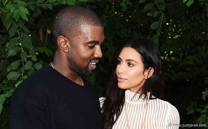 Kim Kardashian & Kanye West Are Reportedly Living on 'Opposite Ends of the House' in Quarantine
