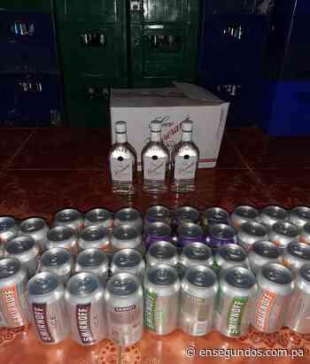 Decomisan 52 cajas de cervezas en Santiago de Veraguas - En Segundos