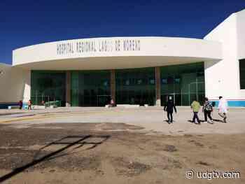 El Nuevo Hospital Regional de Lagos de Moreno estará en función el próximo lunes. - UDG TV
