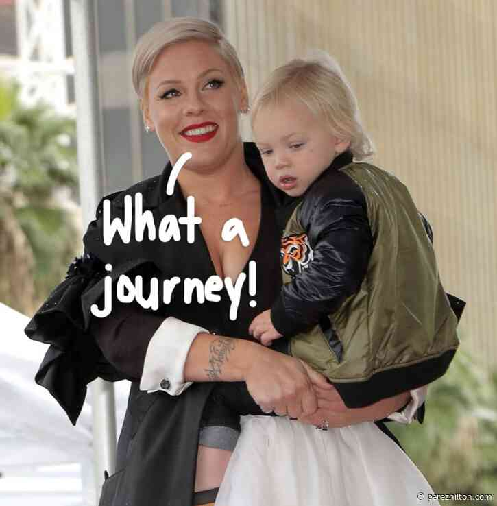 Pink Reflects On Motherhood & Beating The Coronavirus With Her Son Jameson Ahead Of Mother's Day