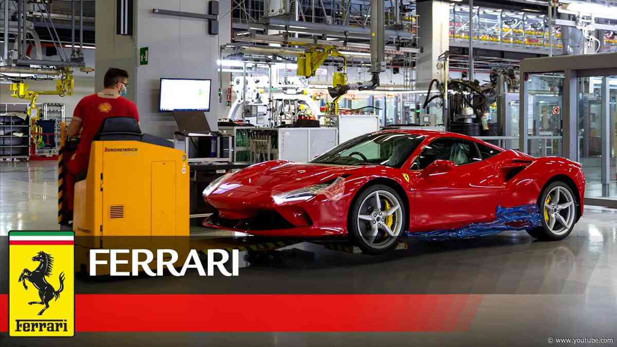 This is how Maranello gets back to work after the Covid-19 lockdown