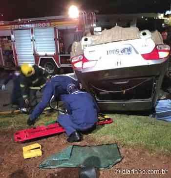 Carro capota e mata dois em Barra Velha - DIARINHO