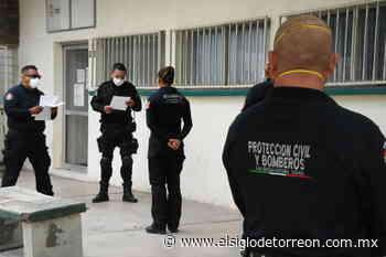 Aplican prueba de COVID-19 a policía de San Buenaventura - El Siglo de Torreón