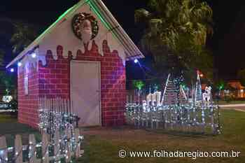 'Natal Brilha Buritama' encanta turistas e moradores – Folha da Região - Folha da Região