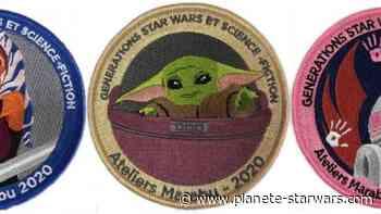 Des patchs caritatifs avec Générations Star Wars et SF à Cusset - Planète Star Wars
