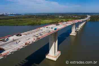 Nova Ponte do Guaíba, no RS, será liberada ao tráfego em 2020 - Estradas