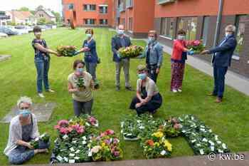 Lendelede dankt woonzorgcentrum en zorgverstrekkers met bloemen - Krant van Westvlaanderen