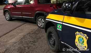 Cristinápolis: PRF recupera veículo roubado em Lauro de Freitas/BA - Infonet