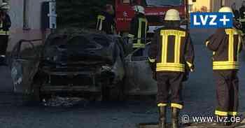 Feuerwehr - Auto in Liebschütz bei Oschatz völlig ausgebrannt - Leipziger Volkszeitung