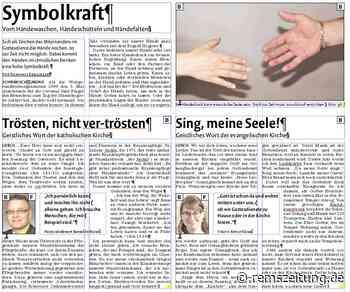 """Geistliche aus Lorch gestalten den """"Zeitungsgottesdienst"""" - Rems-Zeitung"""