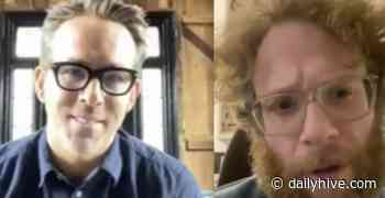 Ryan Reynolds and Seth Rogen want you to practice physical distancing | News - Daily Hive