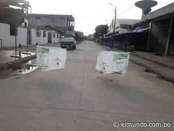 Pailón se encapsula hasta el jueves contra el coronavirus | EL MUNDO - Diario Líder de Información en Bolivia - El Mundo (Bolivia)