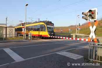 Bahnübergang Eschenau: So könnte die Gefahrenstelle entschärft werden - STIMME.de - Heilbronner Stimme