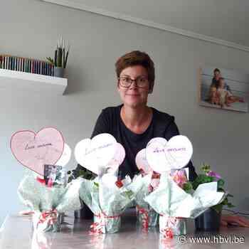 Onthaalouder Suzanne uit Ophoven zet mama's in de bloemetjes - Het Belang van Limburg