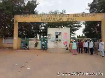 Karu local govt staff protest, demand salary arrears, PPE (PHOTOS) - Daily Trust