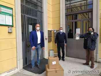 La Megali assicurazione di Tradate dona 500 mascherine - Varese Settegiorni