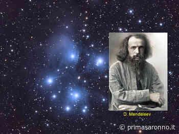 """""""L'origine cosmica di tutti gli elementi"""" spiegata dal Gat di Tradate - Varese Settegiorni"""