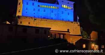 Festa dell'Europa. A Longiano castello in blu: la foto - Corriere Cesenate