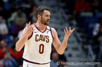 Cavaliers' Kevin Love says being at reopened practice facility felt 'weird, uplifting'