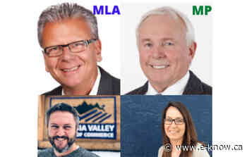 Senior politicians to provide digital updates Friday | Canal Flats, Columbia Valley, Invermere, Radium - E-Know.ca