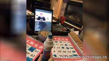 Former Rosetown man holds weekly Facebook live bingo nights for friends and family during COVID-19 - CTV News Saskatoon