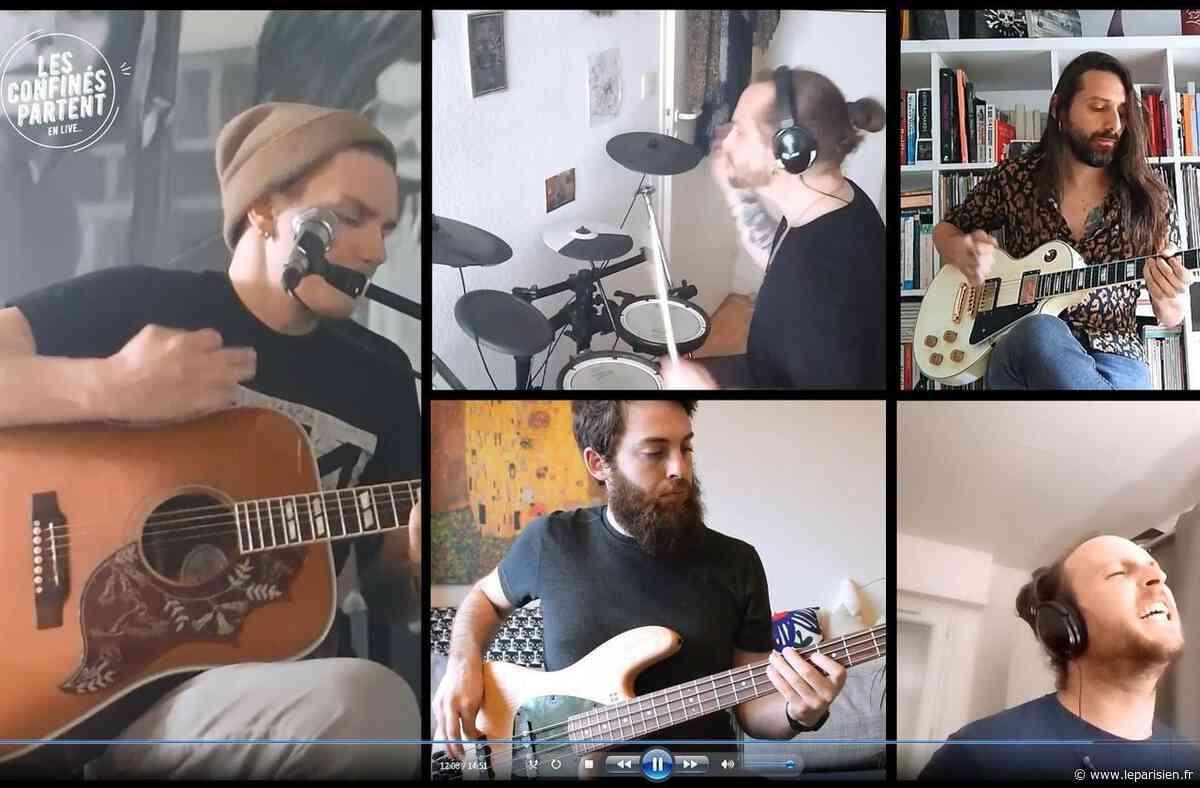 Un festival rock pour musiciens confinés à Sartrouville - Le Parisien