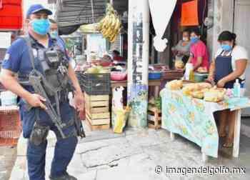 En Chinameca, obligatorio el uso de cubrebocas en espacios públicos - Imagen del Golfo