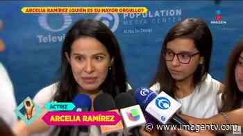 Arcelia Ramírez orgullosa del debut de su hija Imagen Televisión - Imagen Televisión