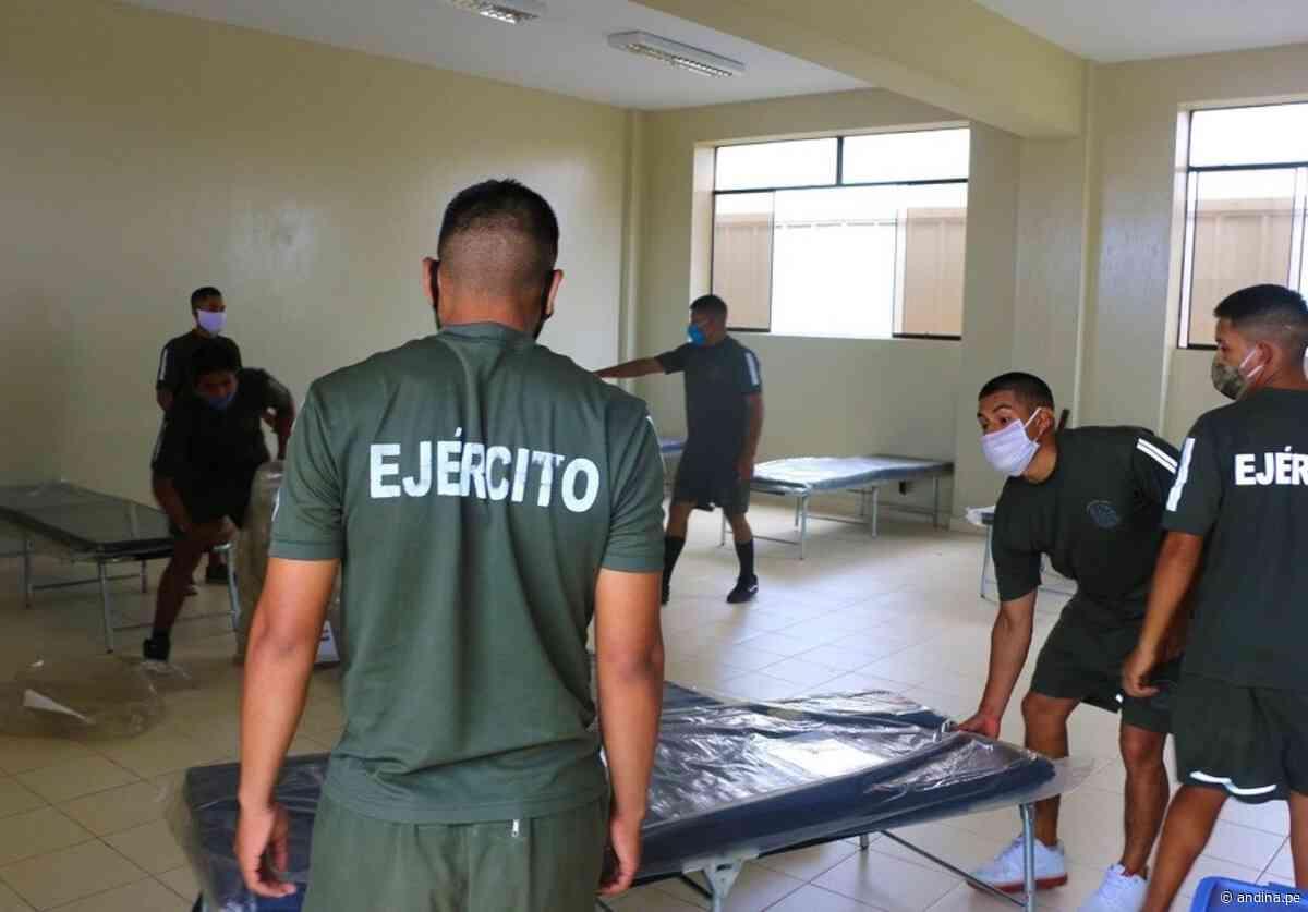 Coronavirus: Región Lima acelera trabajos para implementar albergue temporal en Huacho - Agencia Andina