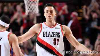 Adam Silver's call with players leaves Zach Collins confident there will be a season